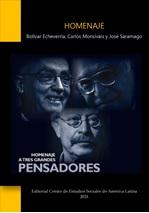 """Lanzamiento del libro: """"Homenaje a Bolívar Echeverría, Carlos Monsiváis y José Saramago"""""""
