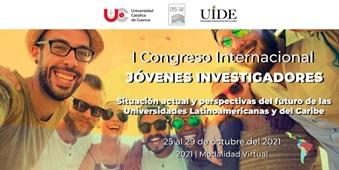 I CONGRESO INTERNACIONAL JÓVENES INVESTIGADORES, octubre 2021