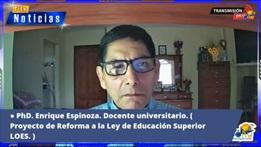 Entrevista al Dr. Enrique Espinoza Freire
