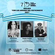 Diálogo con el jurado del Festival Internacional de Cine de Guayaquil